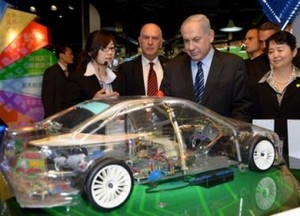 PM Netanyahu visits the Caohejing high-tech park in Shanghai